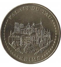 REIMS - Palais du Tau 2 (face simple) / MONNAIE DE PARIS 2010