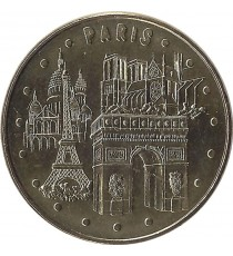 PARIS - Les 4 Monuments / MONNAIE DE PARIS 2006