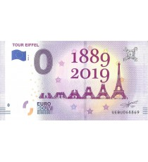 PARIS - Tour Eiffel (1889-2019) / MONNAIE DE PARIS 2019-5