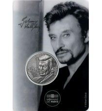PARIS - Hôtel de la Monnaie 56 - Johnny Hallyday 7 - (johnny portrait) / MONNAIE DE PARIS 2020